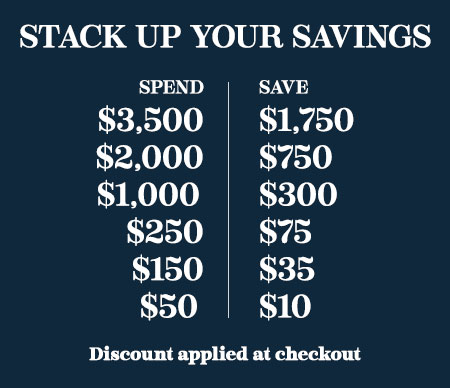Stack Up Your Savings