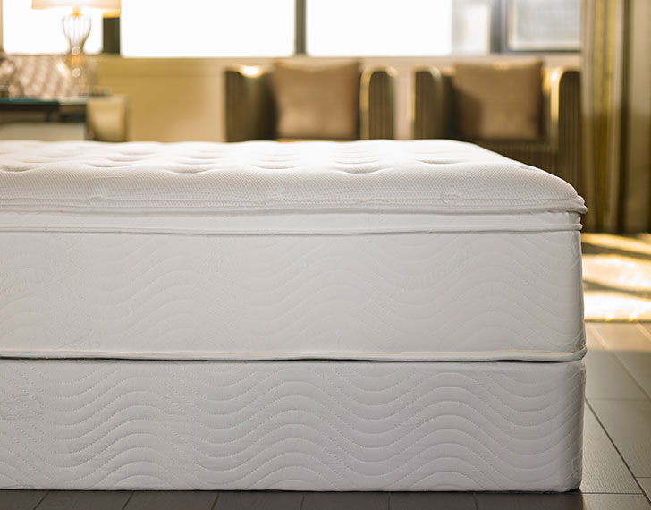 mattress box spring sheraton store. Black Bedroom Furniture Sets. Home Design Ideas