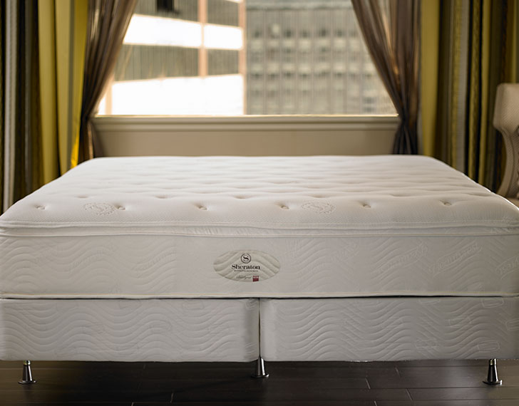 mattress box spring shop the sheraton bed bedding. Black Bedroom Furniture Sets. Home Design Ideas