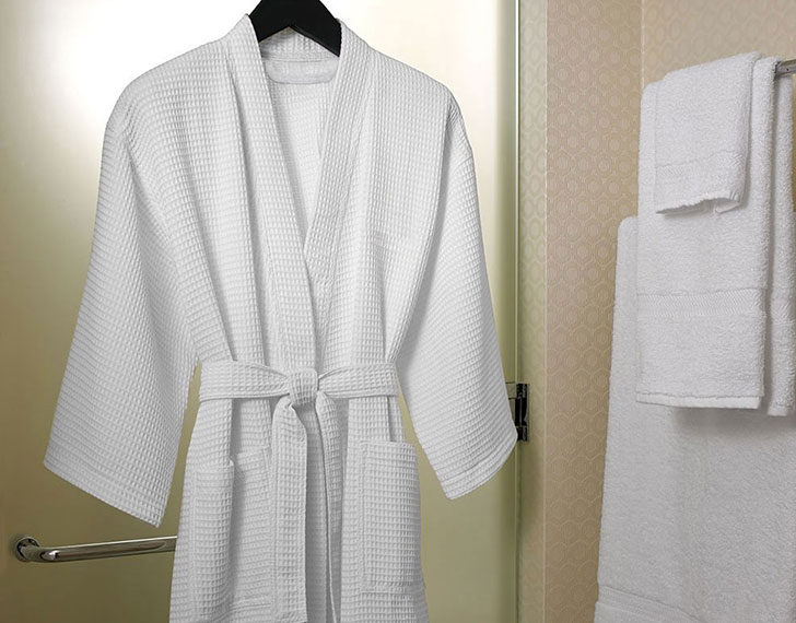 Waffle Weave Robe Shop Le Grand Bain Bath And Body