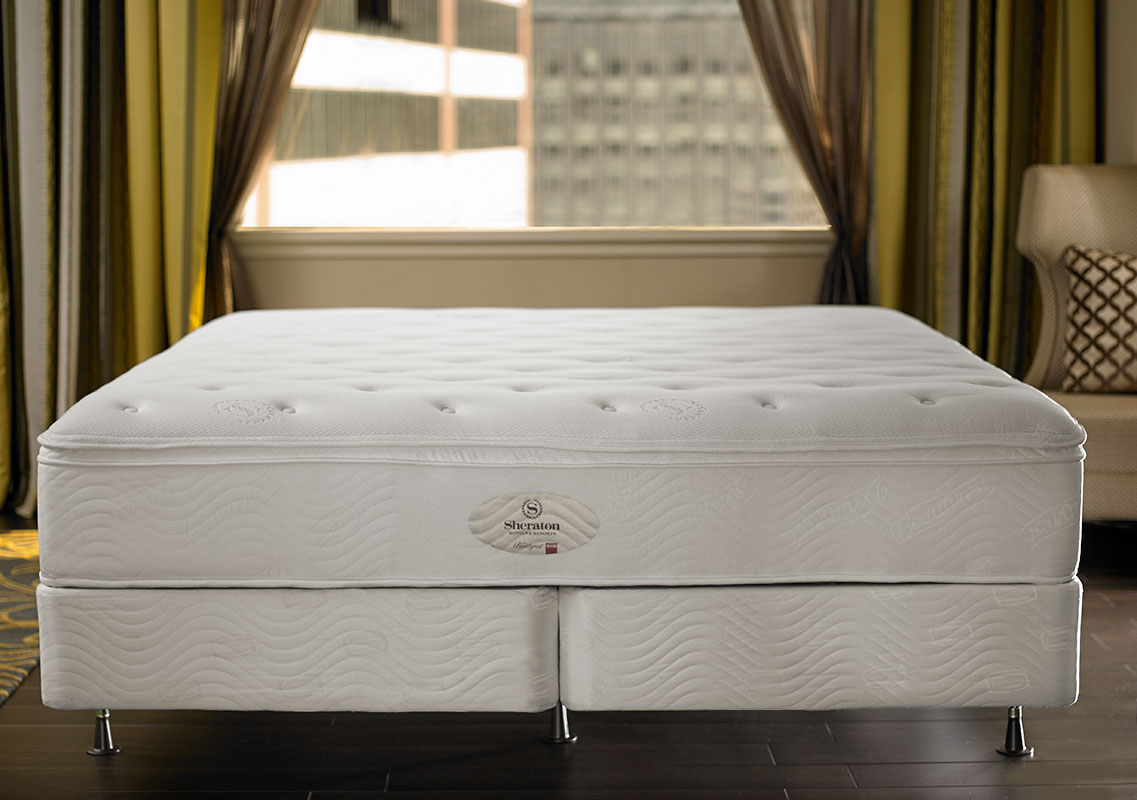 Mattress box spring sheraton store for Bed sets with mattress