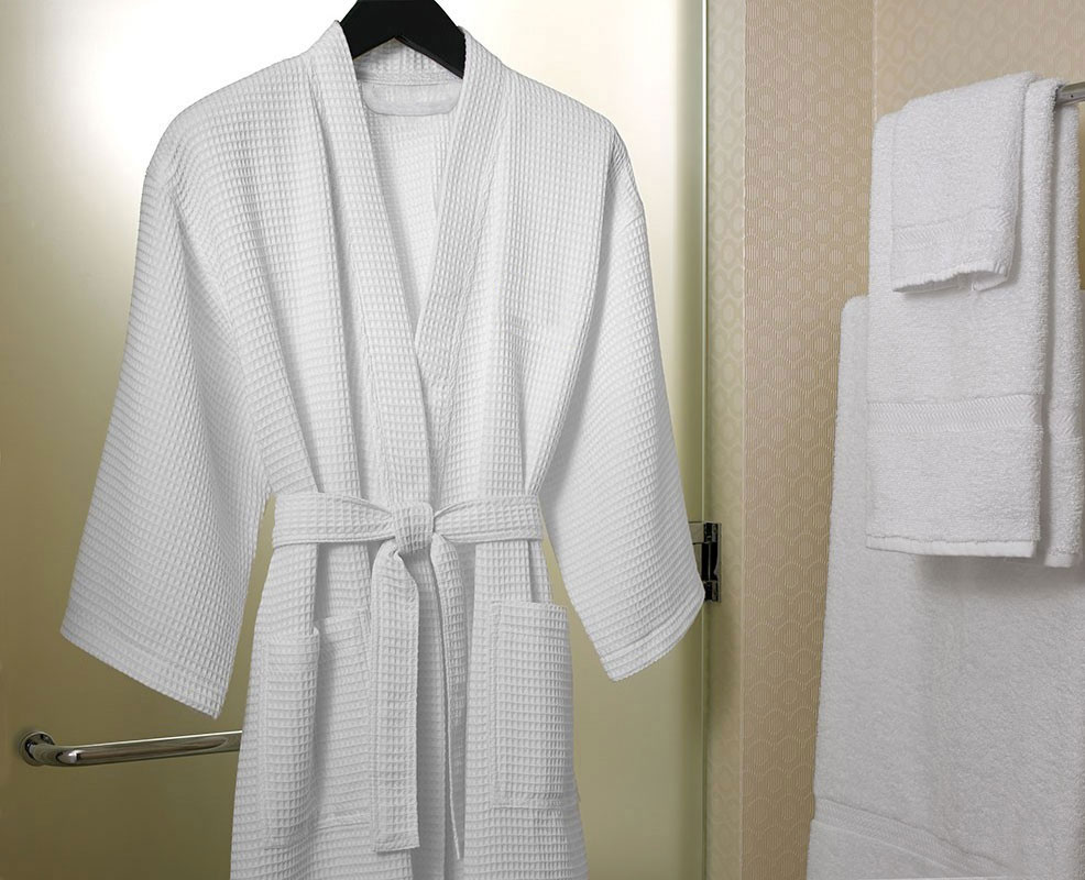 Waffle Weave Robe Shop Le Grand Bain Bath And Body